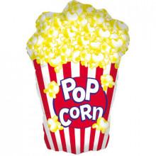 "Pop Corn Foil Balloon 38"" Shape"
