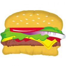 "Hamburger Foil Balloon 28"" Shape"