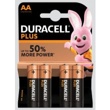 Duracell Plus AA Batteries Pack 4