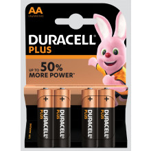 S9707 Duracell AA Batteries 4's
