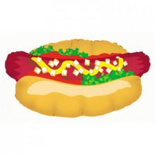 """Hot Dog Foil Balloon 32"""" Shape"""
