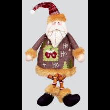 40cm Patchwork Santa/Snowman