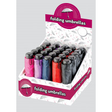 Folding Umbrella Assorted CDU