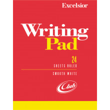 Ruled Pads Excelsior White 24 sheets