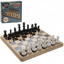 Retro Chess Game 21x21x5cm