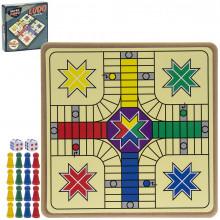 Retro Ludo Game 21x21x5cm