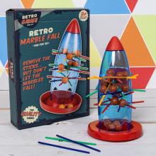 Retro Marble Fall Game 15x20x5cm