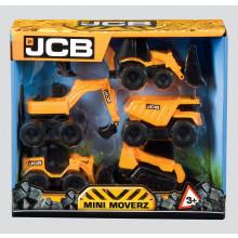JCB Mini Movers 5 Pack