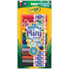 Crayola Mini Pipsqueak Markers Washable