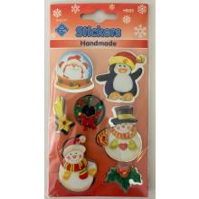 Christmas Stickers Handmade