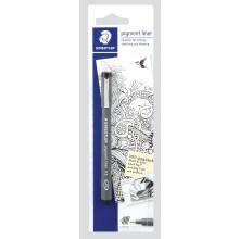 Staedtler Pigment Liner Pen 0.5 Black