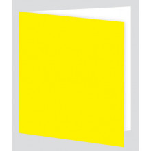 Plain Yellow Gift Tag - Adhesive