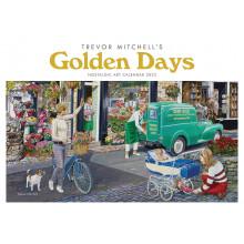 DD01007 A4 Calendar Golden Days