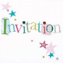 6 Open Invitation Cards Spots