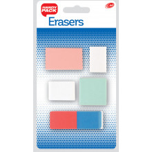 Club Eraser Pack Carded