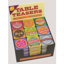 Table Teasers Mini Games Asst