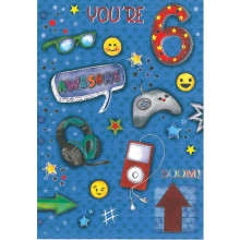 Greetings Cards Age 6 Male