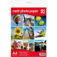 A4 Matt Photo Paper 128gsm 50 Sheets