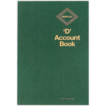 Simplex D Account Book
