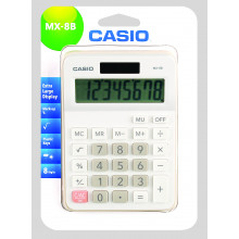 Casio Solar Calculator MX-8B Dual Power
