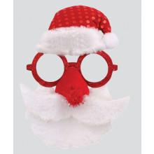 X4905 Santa Glasses Hat & Beard