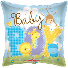Baby Boy Pillow Foil Balloon
