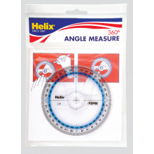 Helix 360 Degree Angle Measure