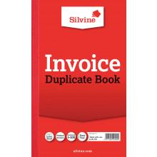 S2903 Silv Duplicate Invoice Book 611