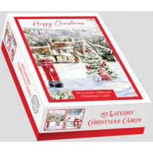 XD00606 Box 20 Christmas Post Cards