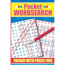 Pocket Wordsearch Book 4 Assorted