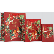 XD02211 Gift Bag Wreath Small