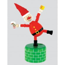 X4704 Christmas Push Up Puppet