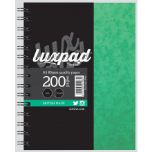 Silvine Luxpad Notebook A5 Stiff Cover