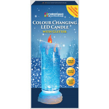 24cm Flicker Water Candle