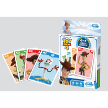Shuffle 4 in 1 Card Games - Toy Story 4