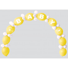 Balloon Arch Kit New Baby - Lemon