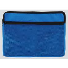 A4+ Canvas Zip Bag w/ Net Pocket Asstd