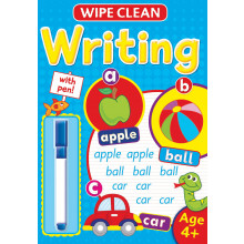 Wipe Clean Book With Pen 4+ Assorted WIP5-8
