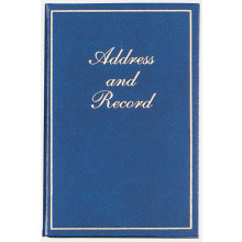 Gold Border Large Address/Record Book