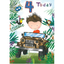 Greetings Cards Age 4 Male