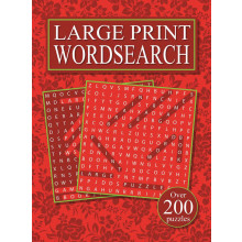 Classic Large Print Wordsearch 4 Asst 180 x 245mm