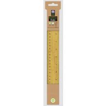 Eco Bamboo Ruler 30cm