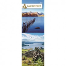 DD01202 Slim Calendar Lake District