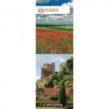 DD01211 Slim Calendar Sussex
