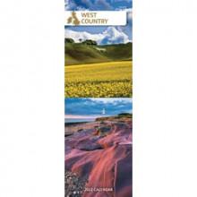 DD01205 Slim Calendar West Country