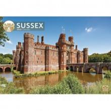 DD01231 A4 Calendar Sussex