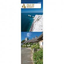DD01201 Slim Calendar Isle of Wight