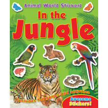 Animal World Sticker Books 4 Ass AST5-8