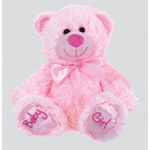 Baby Girl Bear - Pink (20cm/8in) Plush Soft Toy