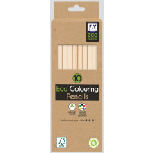 Eco Colouring Pencils Pack 10